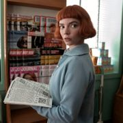 """This image release by Netflix shows Anya Taylor-Joy from the series """"The Queen's Gambit."""" Ken Woroner / TT NYHETSBYRÅN"""