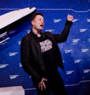 Elon Musk. Hannibal Hanschke / TT NYHETSBYRÅN