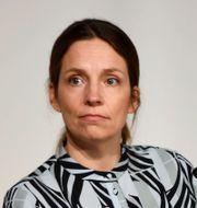 Sara Byfors, enhetschef på Folkhälsomyndigheten. Carl-Olof Zimmerman/ TT / TT NYHETSBYRÅN