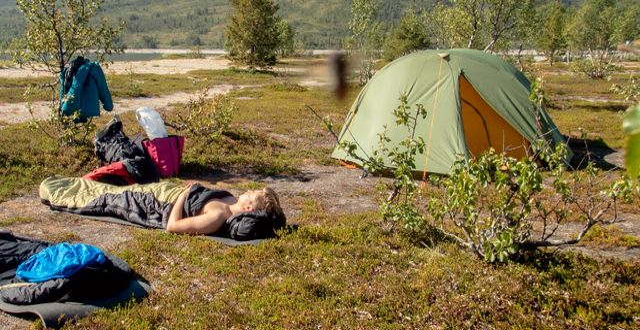 """Hundratals tält dumpades på Kebnekaises fjällstation: """"Inte"""