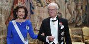 Drottning Silvia och kung Carl XVI Gustaf. Christine Olsson/TT / TT NYHETSBYRÅN