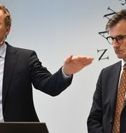 Henrik Braconier och Erik Thedéen. TT.