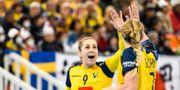 Svenskorna firar.  LUDVIG THUNMAN / BILDBYRÅN