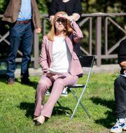 Centerpartiets ledare Annie Lööf i samband med sommartalet i måndags. Christine Olsson / TT NYHETSBYRÅN
