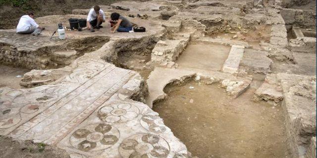 """Utgrävningarna av """"Lilla Pompeji"""" pågår fortfarande. Getty/AFP"""