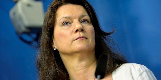 Handelsminister Ann Linde (S). TT NEWS AGENCY / TT NYHETSBYRÅN