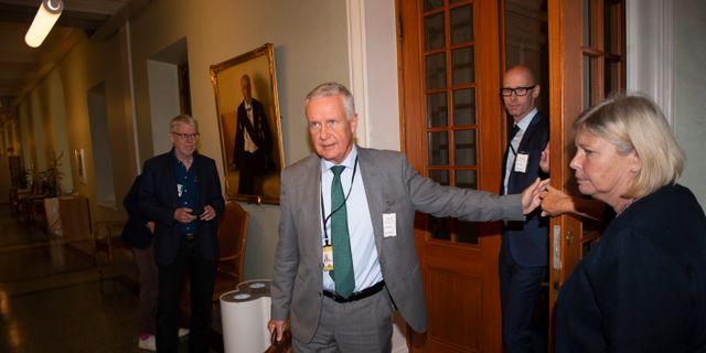 Thomas Rolén, ordförande i Kommittén om den framtida svenska migrationspolitiken. Henrik Montgomery/TT / TT NYHETSBYRÅN