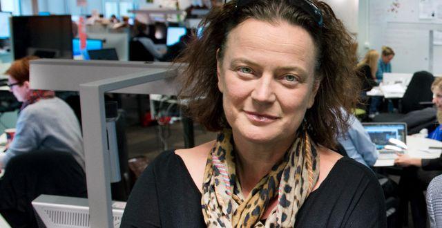 Lena K Samuelsson. Arkivbild. Lars Pehrson / SvD / TT / TT NYHETSBYRÅN