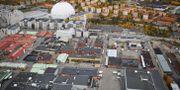 Arkivbild. Flygbild över Globen, Globen city och Slakthusområdet. Bertil Ericson / TT / TT NYHETSBYRÅN