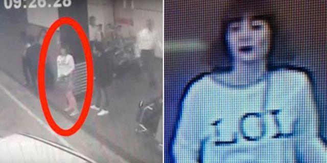Bilder från övervakningskameror på flygplatsen i Kuala Lumpur som sägs visa en av de kvinnor som misstänks för inblandning i mordet på den nordkoreanska diktatorn Kim Jong-Uns halvbror.