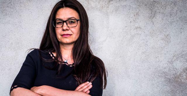 Riksdagsledamoten Helena Lindahl (C). Magnus Hjalmarson Neideman/SvD/TT / TT NYHETSBYRÅN