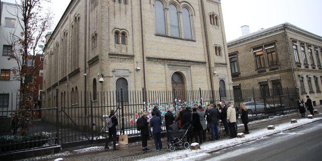 Synagogan i Göteborg. Adam Ihse/TT / TT NYHETSBYRÅN