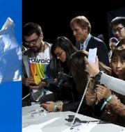 Telenor och Huaweis lansering av Mate 30.  TT