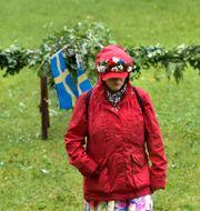 Regnig midsommar i Bredäng, Stockholm/Arkivbild. Jonas Ekströmer/TT / TT NYHETSBYRÅN