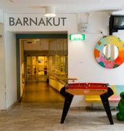 Barnakuten på Astrid Lindgrens Barnsjukhus i Solna HENRIK MONTGOMERY / TT / TT NYHETSBYRÅN