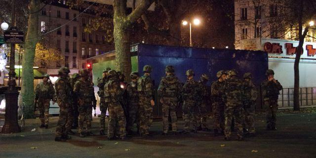 Franska soldater. RICK ALARCON / AFP