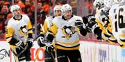 Sidney Crosby efter sitt mål. ELSA / GETTY IMAGES NORTH AMERICA