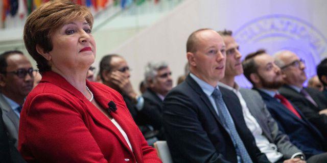 IMF-chefen Kristalina Georgieva.  NICHOLAS KAMM / AFP