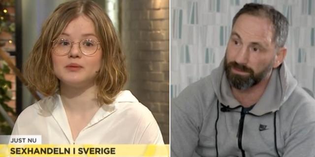 Gabriella Kärnekull Wolfe och Paolo Roberto. TV4 Nyhetsmorgon