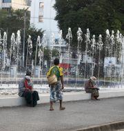 Bild från Yangon i Myanmar. Thein Zaw / TT NYHETSBYRÅN