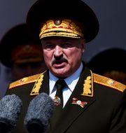Belarus president Aleksandr Lukasjenko. TT NYHETSBYRÅN