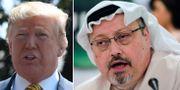 Donald Trump / Jamal Khashoggi.  TT
