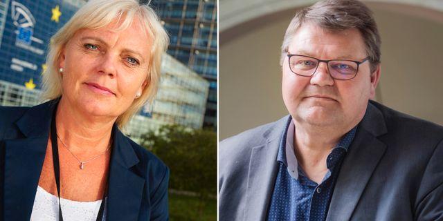 Kristina Winberg och Peter Lundgren. TT