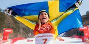 Frida Hansdotter under OS 2018.  JOEL MARKLUND / BILDBYRÅN