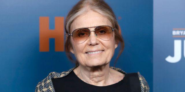Gloria Steinem Greg Allen / TT NYHETSBYRÅN