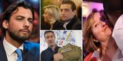 Thierry Baudet, Jordan Bardella, Caio Giulio Cesare Mussolini och Nathalie Loiseau. TT