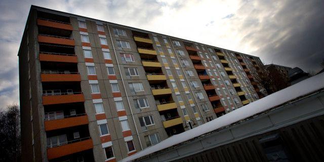 Ett hus på Senapsgatan i Angered. BJÖRN LARSSON ROSVALL / TT / TT NYHETSBYRÅN