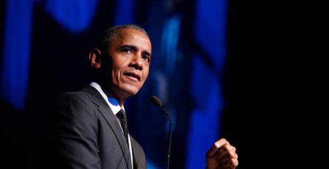 Barack Obama Jason DeCrow / TT NYHETSBYRÅN