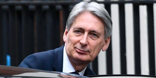 Philip Hammond, Storbritanniens finansminister. Stefan Rousseau / TT NYHETSBYRÅN/ NTB Scanpix