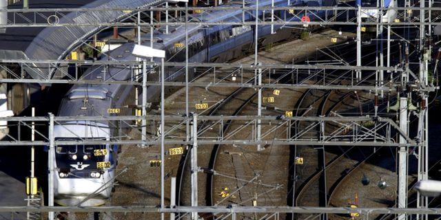 X2000 på Centralstationen i Stockholm/arkiv.  Mats Andersson / TT / TT NYHETSBYRÅN