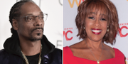 Snoop Dogg/Gayle King. TT
