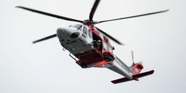 Sjöfartsverkets räddningshelikopter, arkivbild. Johan Nilsson/TT / TT NYHETSBYRÅN