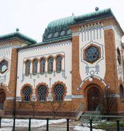 Synagogan i Malmö. BERTIL ERICSON / TT / TT NYHETSBYRÅN