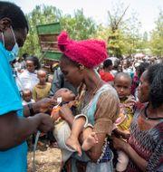 FN beskriver det humanitära läget i Tigray som en katastrof. TT NYHETSBYRÅN