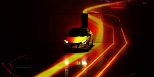 Nissan Leaf. KIM KYUNG-HOON / TT NYHETSBYRÅN