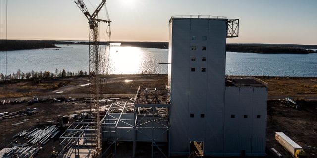 Illustrationsbild: SSAB:s, LKAB:s och Vattenfalls stålprojekt Hybrit i Luleå. Magnus Hjalmarson Neideman/SvD/TT / TT NYHETSBYRÅN