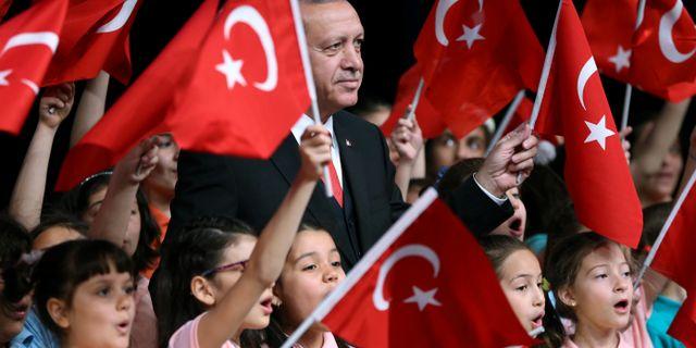 Turkiets president Recep Tayyip Erdogan. HANDOUT / TT NYHETSBYRÅN