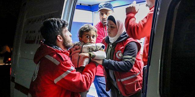 Pojke som flytt med sin familj från stridigheterna i Syrien. TT NYHETSBYRÅN/ NTB Scanpix