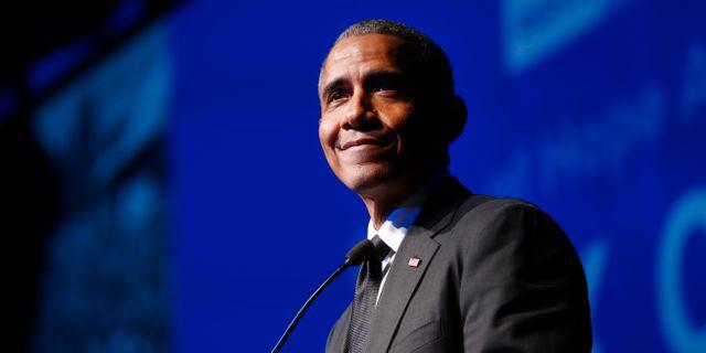 Barack Obama. Arkivbild. Jason DeCrow / TT NYHETSBYRÅN