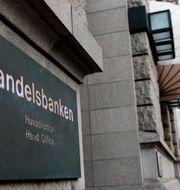 Illustrationsbild: Handelsbanken var den av storbankerna som hamnade högst upp i undersökningen.  Alexander Larsson Vierth/TT / TT NYHETSBYRÅN