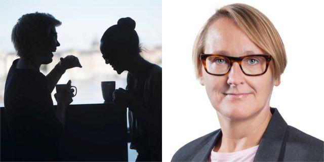 Annika Sundén.  TT / Arbetsförmedlingen.