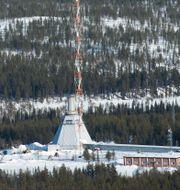 Raketuppskjutningsplatsen på SSC:s rymdbas Esrange i Kiruna. Fredrik Sandberg/TT / TT NYHETSBYRÅN