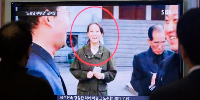 Lillasystern Kim Yo Jong Ahn Young-joon / TT / NTB Scanpix