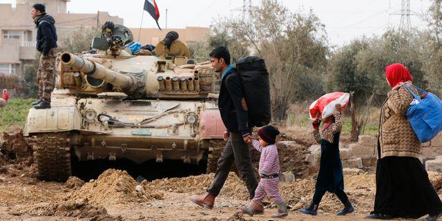 Trumps lofte inga fler vapen till kurdiska styrkor