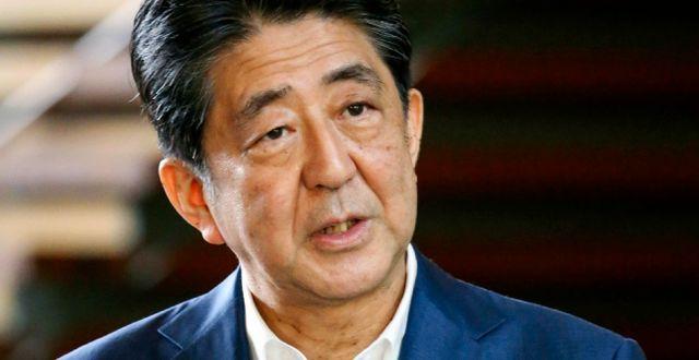 Shinzo Abe TT NYHETSBYRÅN