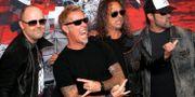 Metallica. Arkivbild. Marco Ugarte / TT NYHETSBYRÅN